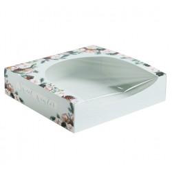 Упаковка для кондитерских изделий Sweet winter, 20*20*5см 4382424