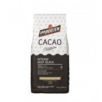 Какао порошок алкализованный (черный) INTENSE DEEP BLACK Van Houten Бельгия 1кг