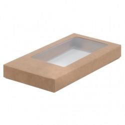 Коробка для шоколадной плитки КРАФТ 160*80*17мм 060705