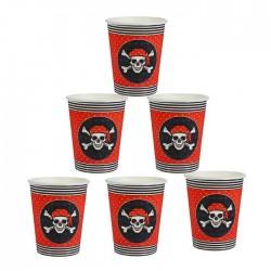 Бумажный стакан «Пиратский», 250 мл (5 шт) 1816520