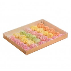 Коробка для пряников 23,5*30*3 см золото 4432284