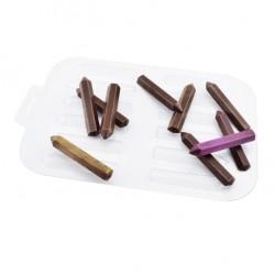 'Карандаши' пластиковая форма для шоколада (MF)