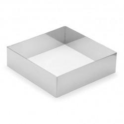 Квадрат рамка кондитерская для мусса металл 26см H=5