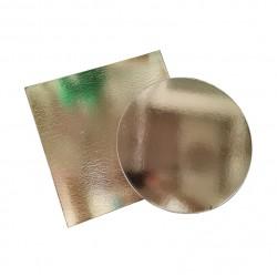 РАСПРОДАЖА Поднос для торта золото картон (в ассортименте)