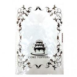 Пакет для пряника 'Coke toppers' 12*18см,10шт