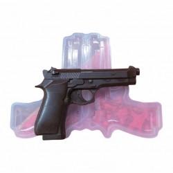 Силиконовая форма №264 Пистолет Беретта 3D 01930