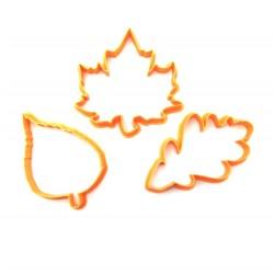Набор форм для пряника 'Листья' Z10 LC-00004958 пластик