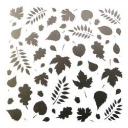 Трафарет 'Осенние листья' LC-00008073 пластик