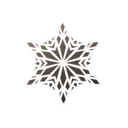 Трафарет 'Снежинка 6' LC-00006532 пластик