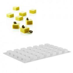 'Мини квадрат' силиконовая форма для выпечки/мусса 2512