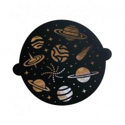 Трафарет круглый Космос 30 ? 35 см 5115486
