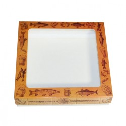 Коробочка с окном Для Рыбака 17*17*3,5см (1530) ML*