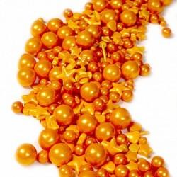 Золотой бум посыпка кондитерская микс 50гр (баночка)