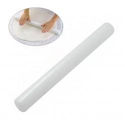 Скалка для мастики гладкая 50см пластик