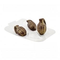'Лимонка двойная' пластиковая форма для шоколада (MF)