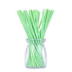 'Зеленые плотные',палочки для кейкпопсов,бумага,1 шт,15см