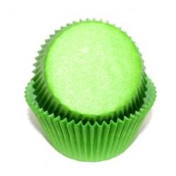 Формочки (мини) бумажные для конфет/кейкпопсов ЗЕЛЕНЫЙ 3см*2см (1 связка)
