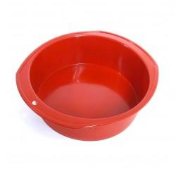 Круглая силиконовая форма для выпечки 22*7 S0041