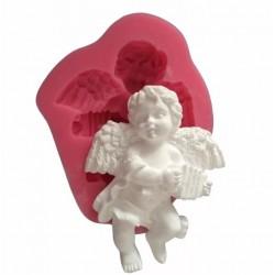 'Ангел2' молд силиконовый (серый)