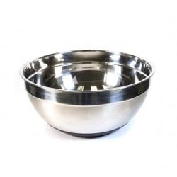 Емкость кондитерская большая с резиновым основанием,металл,d=24 см