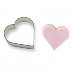 'Сердце' вырубка, металл,1 шт