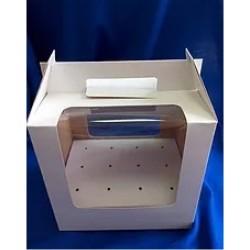 Коробка для 12 кейкпопсов 190*145*185 мм белый