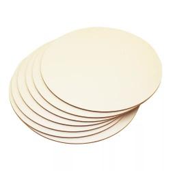 Подложка для торта 30 см круглая деревянная 3мм
