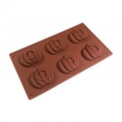 Тыква силиконовая форма для шоколада 630504