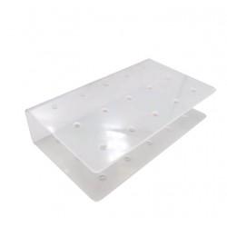 Подставка для кейкпопсов прямоугольная (ЦЕЛЬНАЯ) на 15шт, акрил