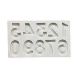 'Цифры' молд силиконовый(серый) 4288398