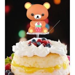 Подставка для фигурки/свечи для торта,пластик,1шт