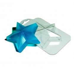 'Звезда' пластиковая форма для шоколада (MF)