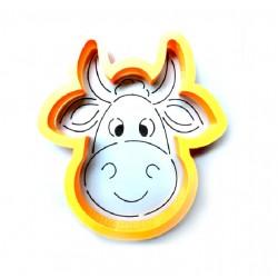 Трафарет+форма 'Голова коровы' LC-00009855 пластик