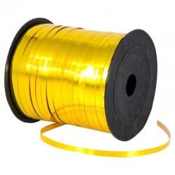 Лента для коробок металлизированная Золотая 0,5 см 220м 418030