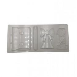 Пластиковая форма для шоколада Набор 1 сентября 51379